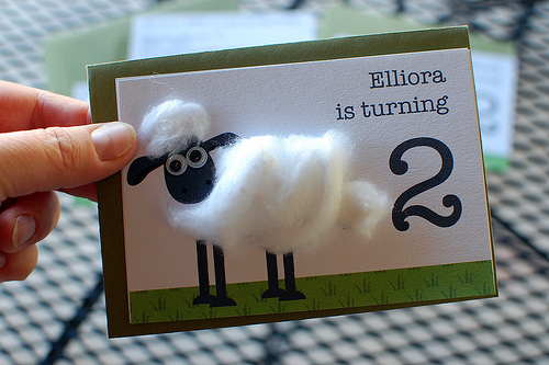 sheep invitation